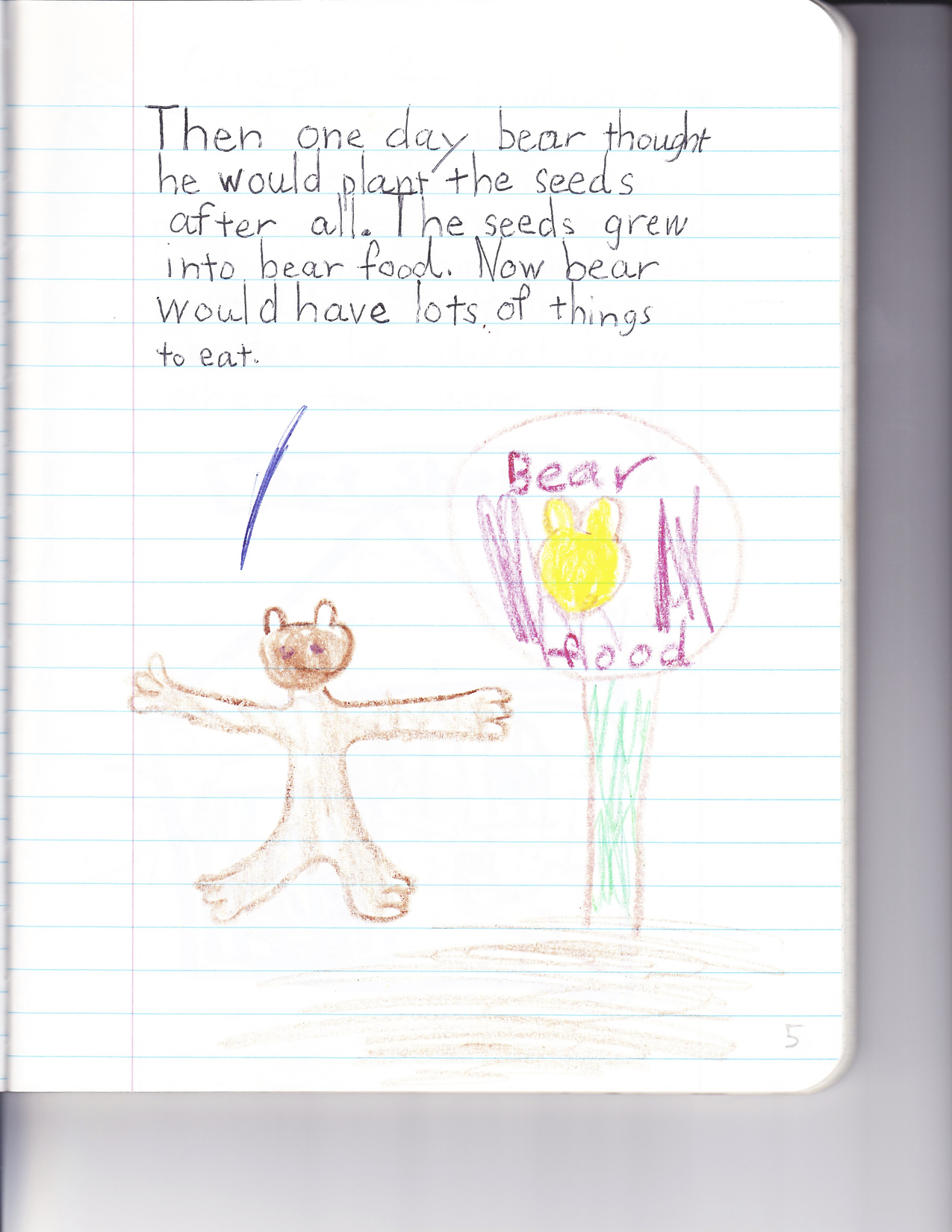 The Bear and the Seeds 5