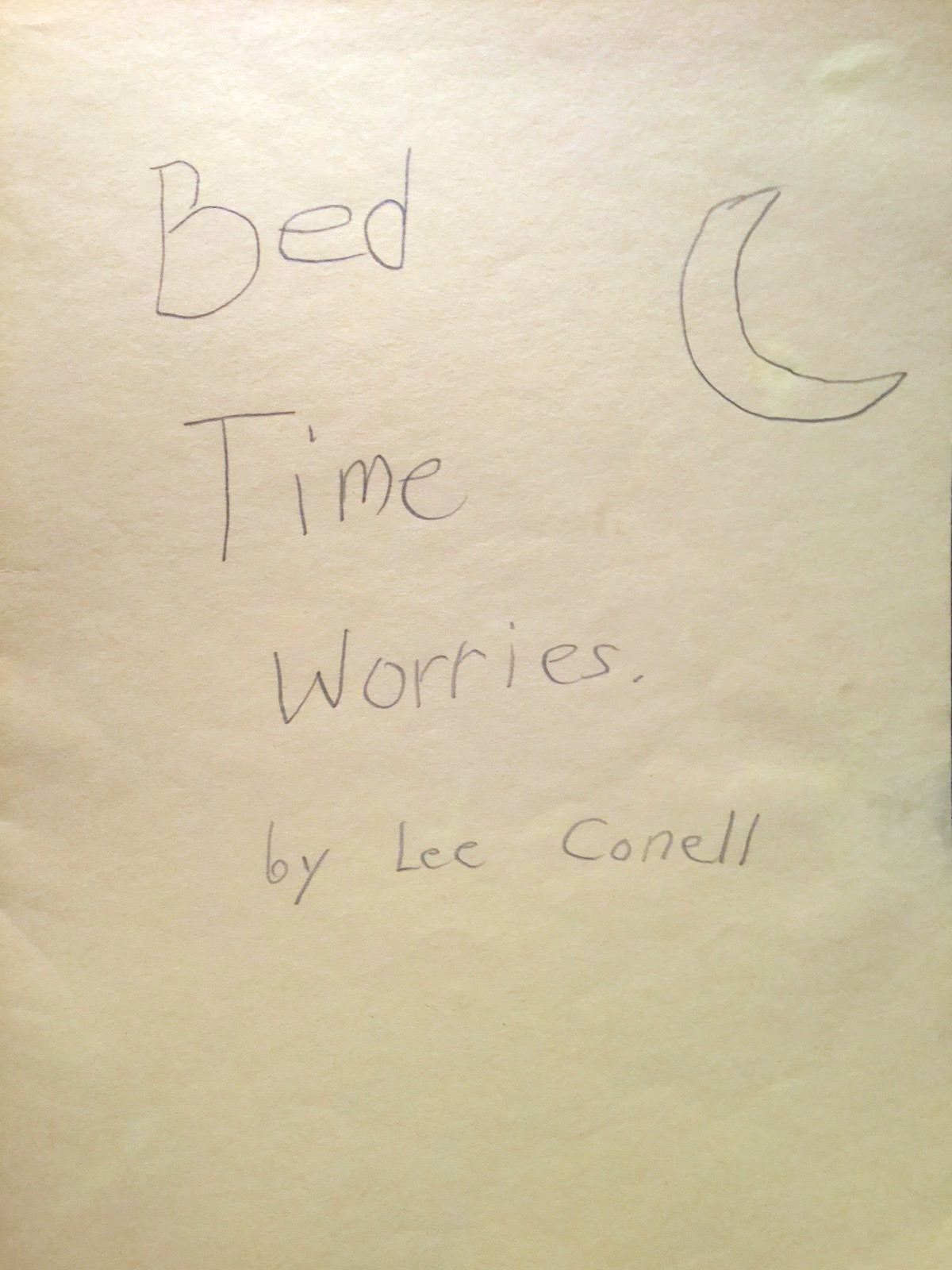 Bed Time Worries 1
